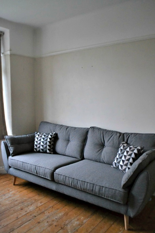 Grey Sofa DFS French Connection