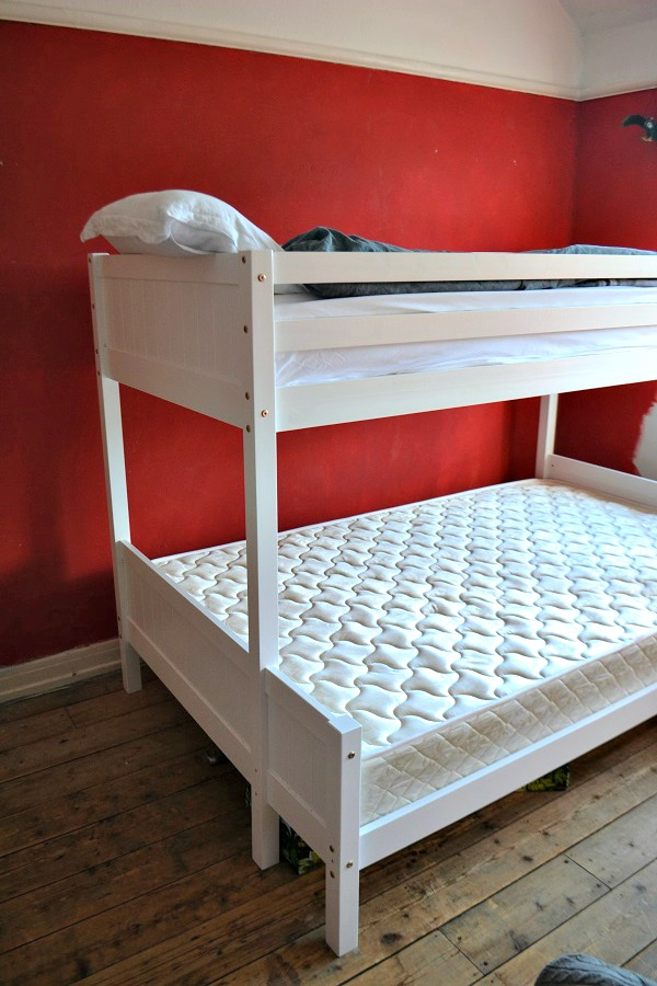 white bunk bed Lakeland Furniture