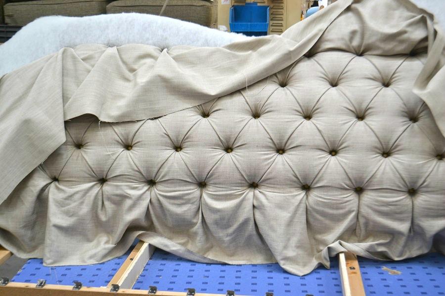 DFS Buttonholing detail