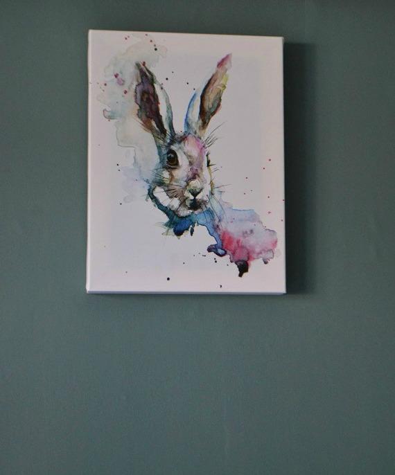 March Hare Canvas Wayfair