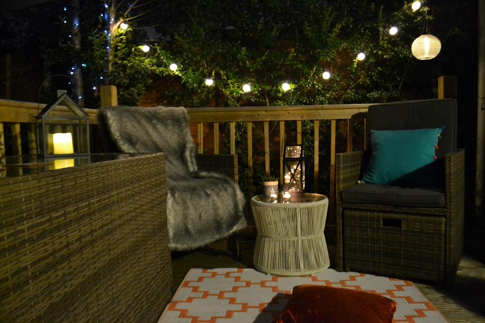 Outdoor ambient lighting