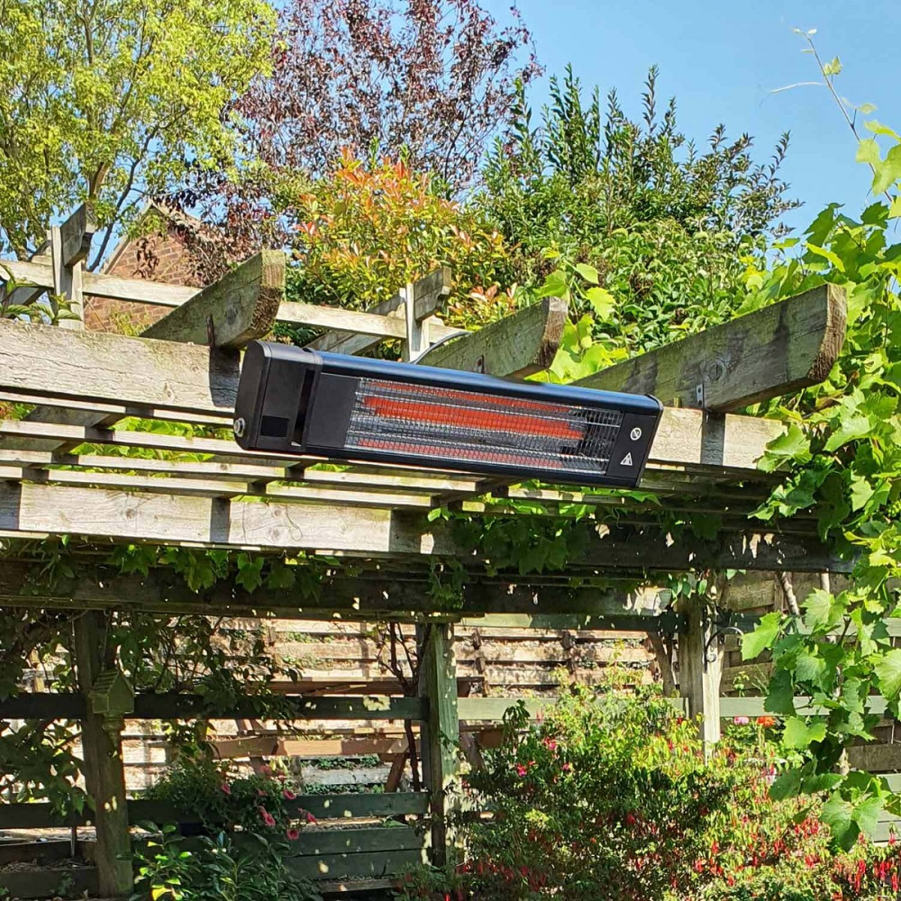 patio heater wall mounted