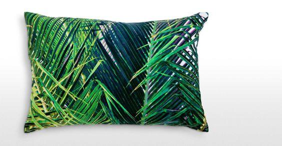 leafy cushion Made.com