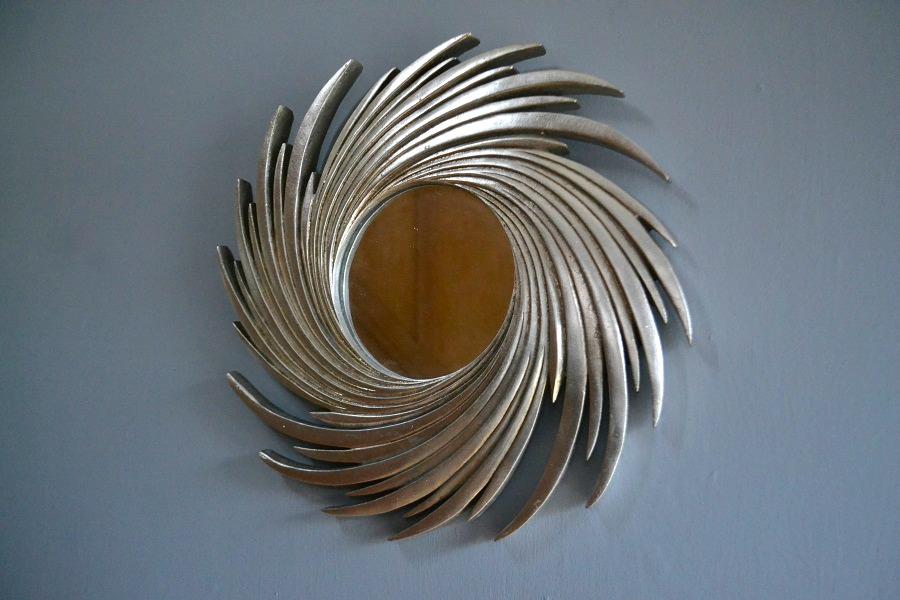 sun swirl mirror