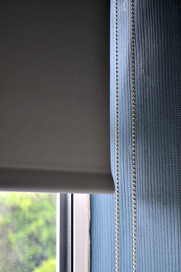 nickel chain blinds