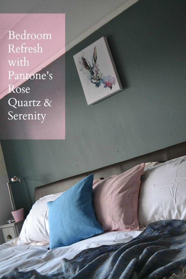 Pantone Color bedroom refresh