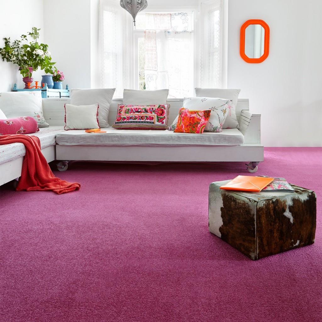 Pink carpet Carpetright
