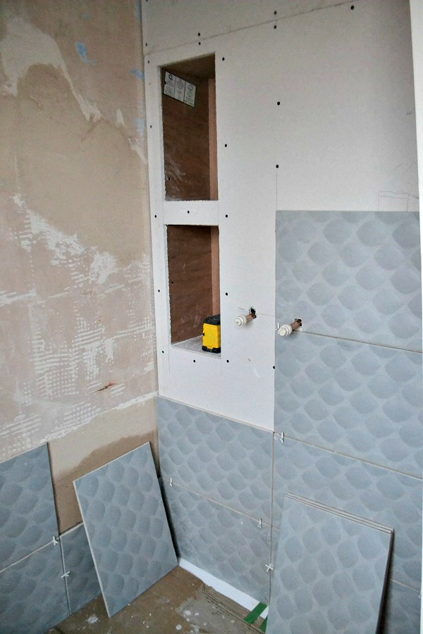 alcoves in shower