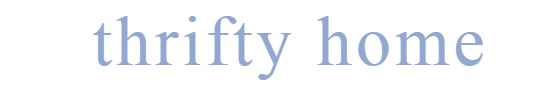 thrifty home logo