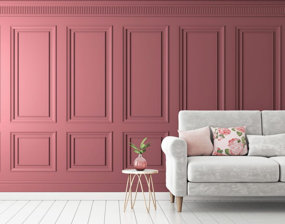 Removable panel wallpaper